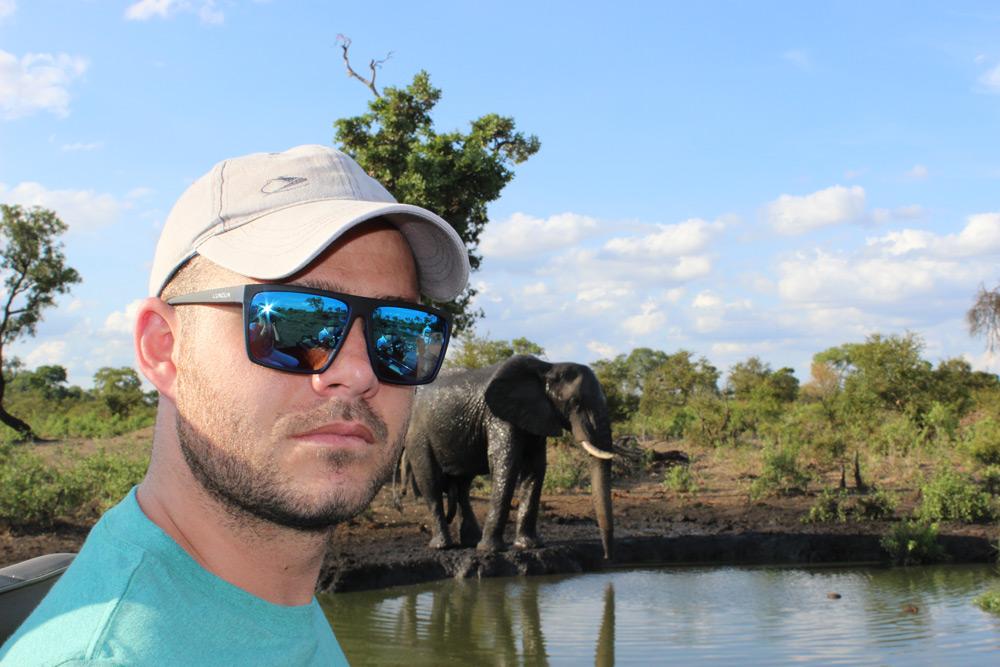 Elephant encounters in the Greater Kruger ©Kelly Winkler
