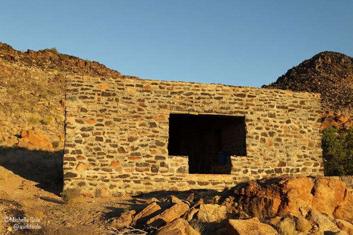 rustic hut klipspringer trail