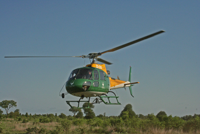 sanparks-helicopter