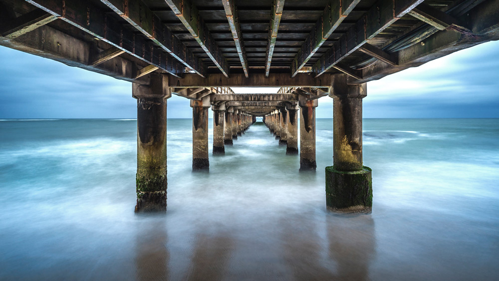 The iconic Jetty in Swakopmund, Namibia ©Anna Mart-Kruger
