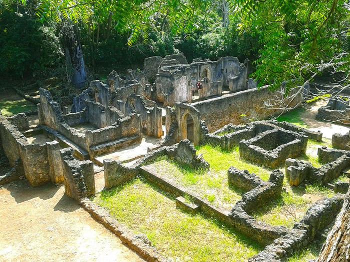 Gede-ruins