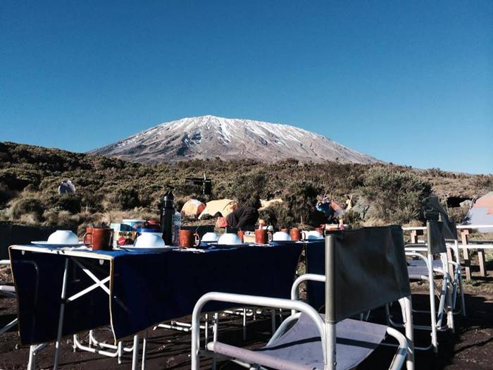 Kilimanjari-climb-lunch