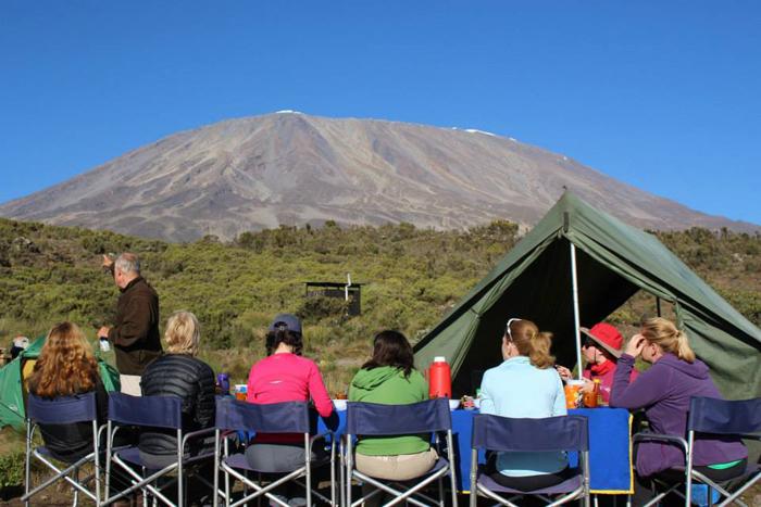 Kilimanjaro-camp