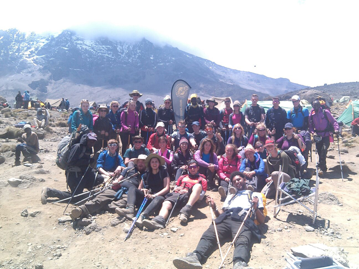 Kilimanjaro-climbing-group
