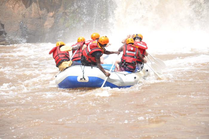 White-water-rafting-Kenya