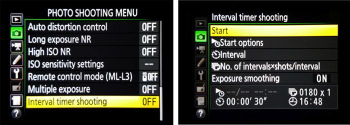 camera-menus