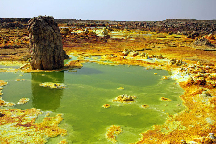 Ethiopia S Sulphur Pools And Salt Lakes Africa Geographic