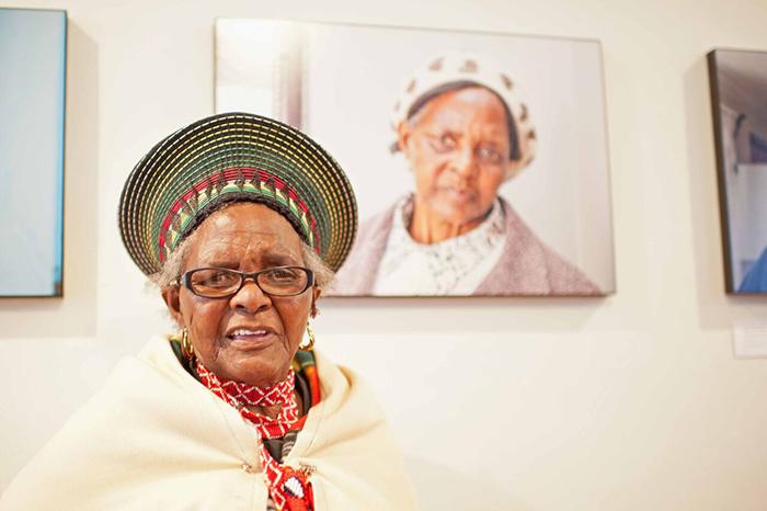 Agnes Nokwakha Magoda featured in the Abantu Abadala book