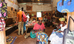Craft shop - Bwindi Impenetrale National park