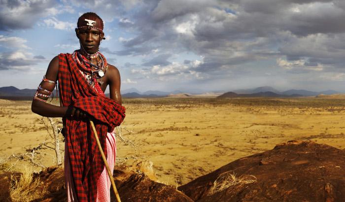 Maasai infinity