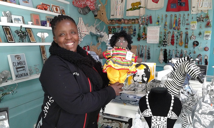 Thando-Zozo-receptionist-at-The-Backpack