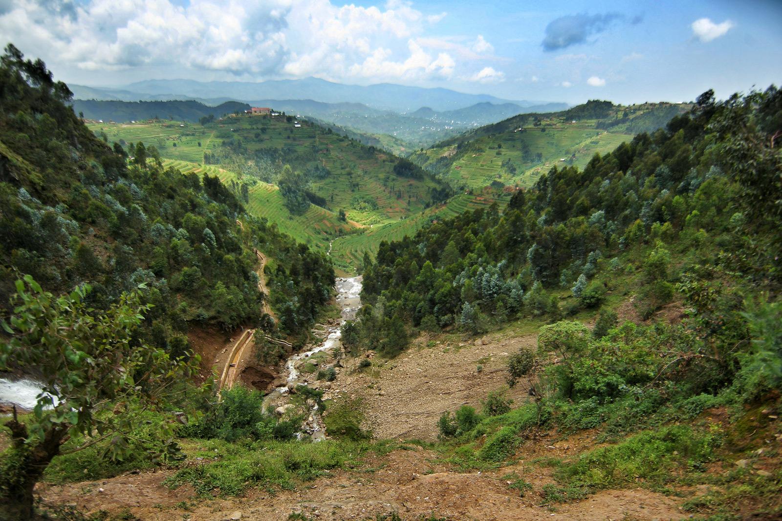 A glimpse at the incredible Rwandan countryside ©Jytte Fredholm Ferreira
