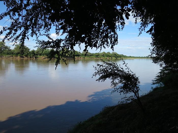 Luangwa-river