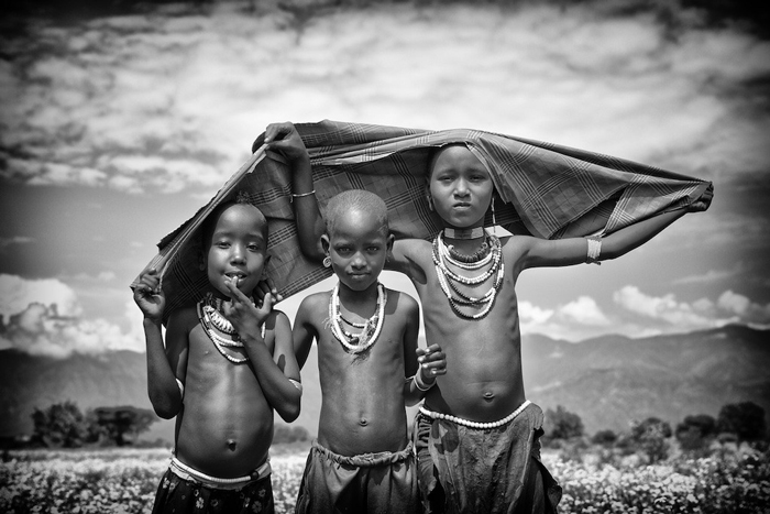tribal life in the omo valley  ethiopia