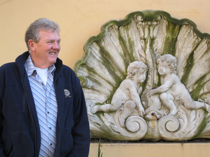 Gert Lubbe, owner of the Montagu Country Hotel ©Carrie Hampton