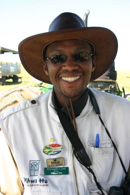 !khwa ttu tour guide, Roman Ndejacarrie ©Carrie Hampton