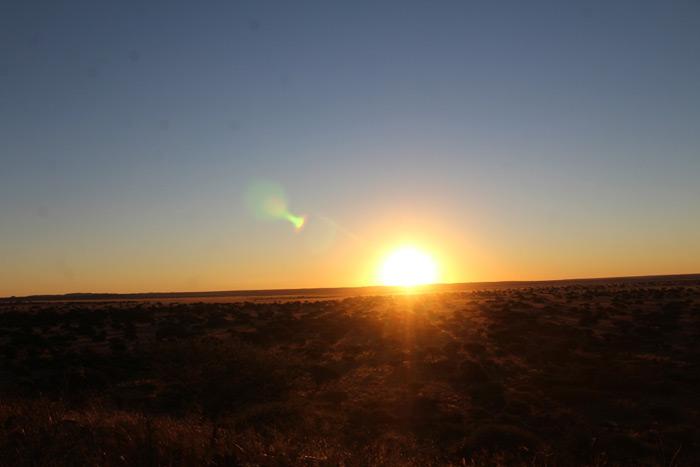 sunset-benfontein-nature-reserve