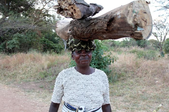 bibi-rehema-carries-wood-on-head