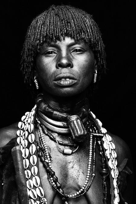 hamar-tribeswoman