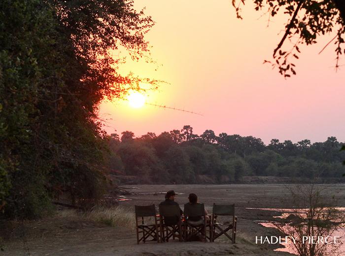 sundowners-at-the-luangwa-river