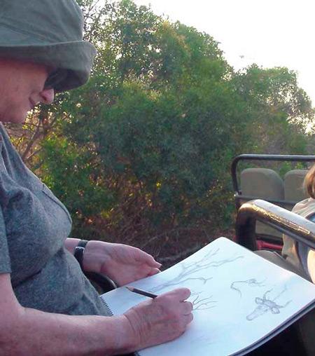 art-safari-sketching