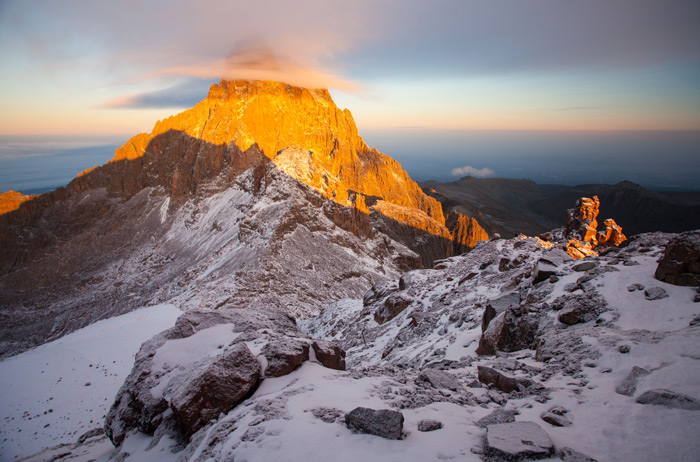 Snow Sunrise And Summits On Africa S Equator Africa