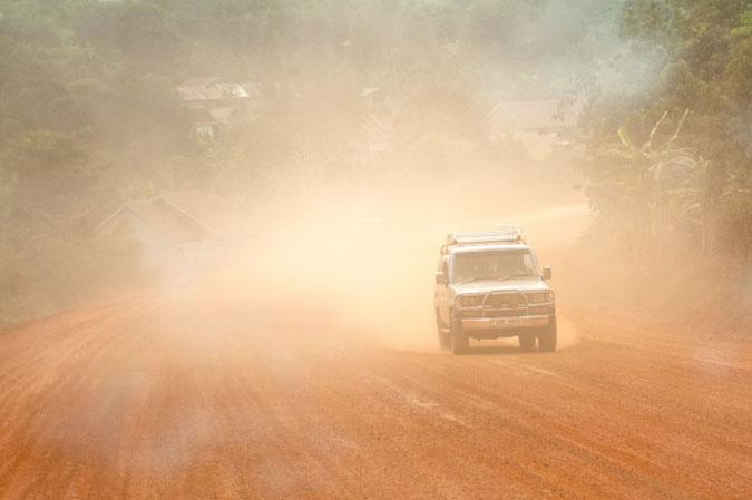 murram-road