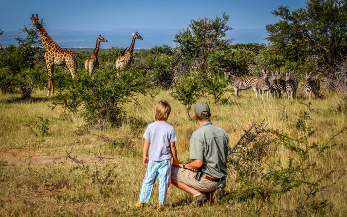 children-safari-bush-walk
