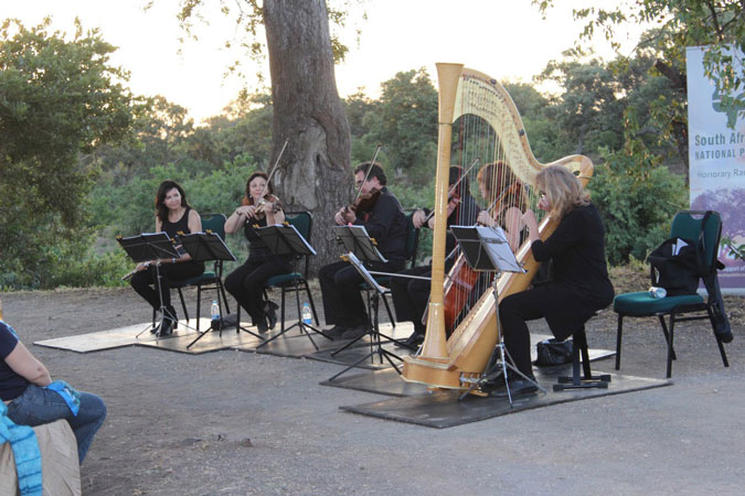 kruger national park sunset serenade concert