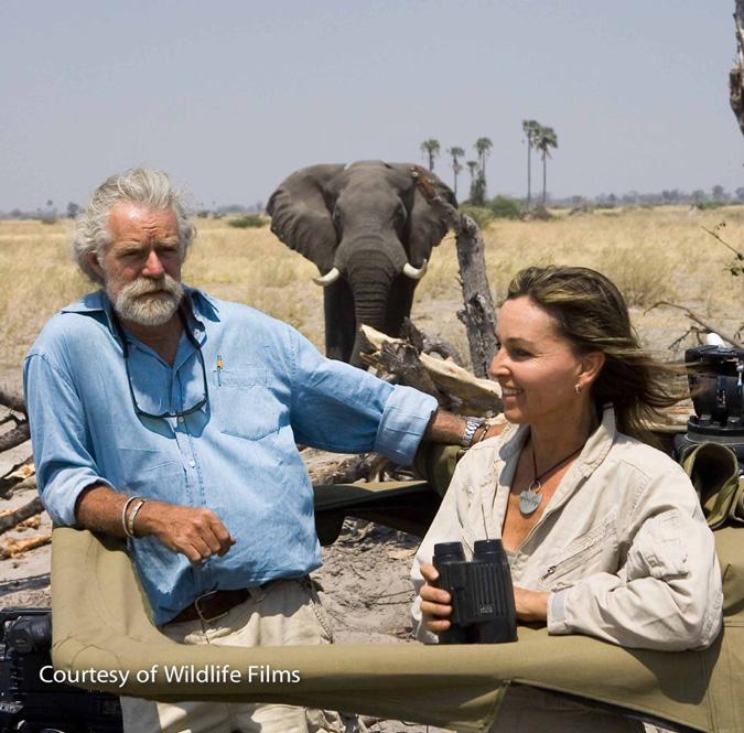 Award-winning filmmakers Dereck and Beverly Joubert