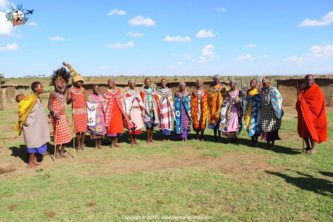 Maasai welcome