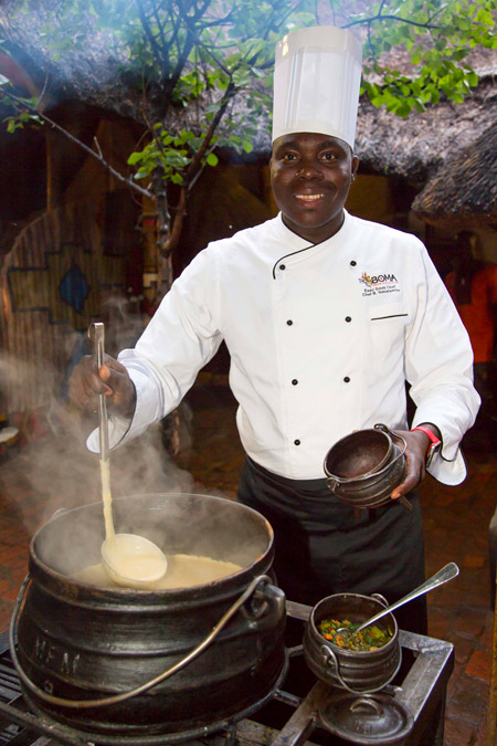 Boma-head-chef-Brighton-Nekatambe-serves-soup
