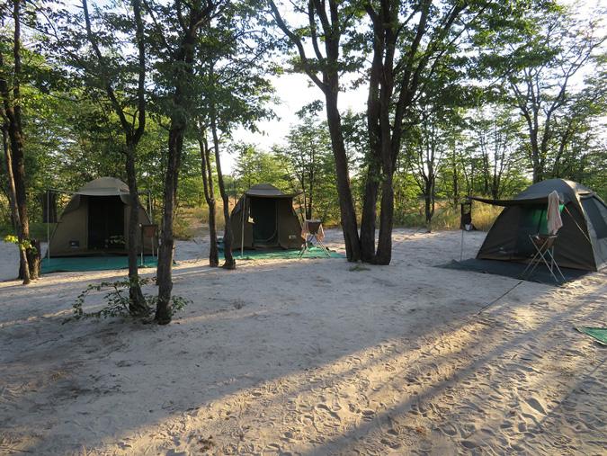 Botswana tents