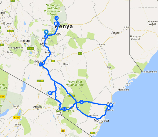 In search of adventure an epic road trip across Kenya Africa