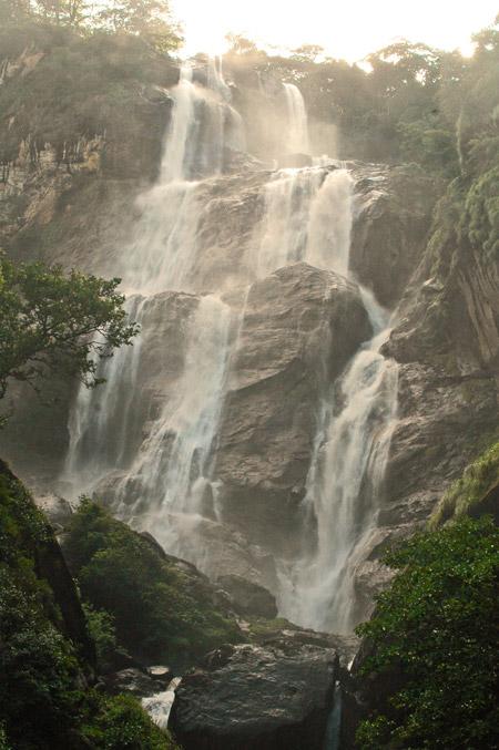 Udzungwas-Waterfall