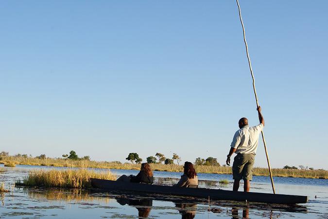 Botswana boat