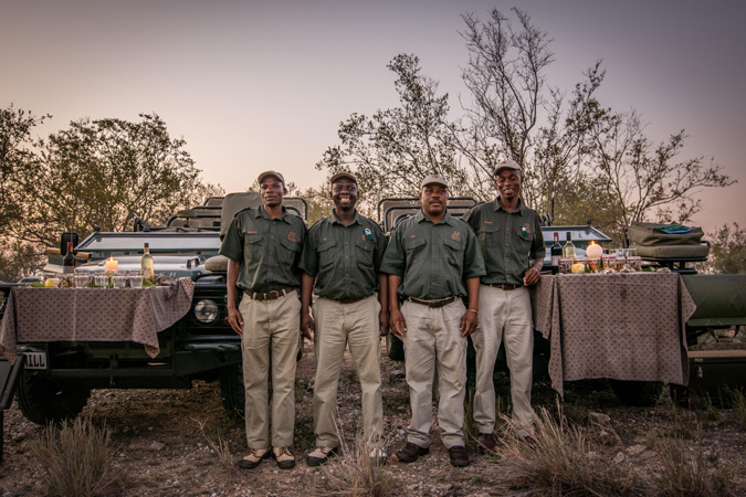 Tipping on safari, guides, South Africa
