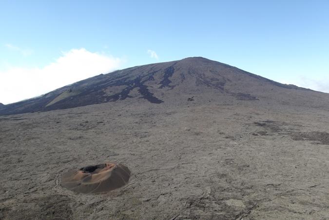 Réunion Island, Piton de la Fournaise volcano