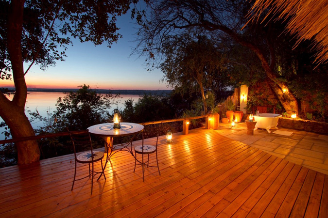 Romantic place to propose, Tongabezi Lodge, Zambia