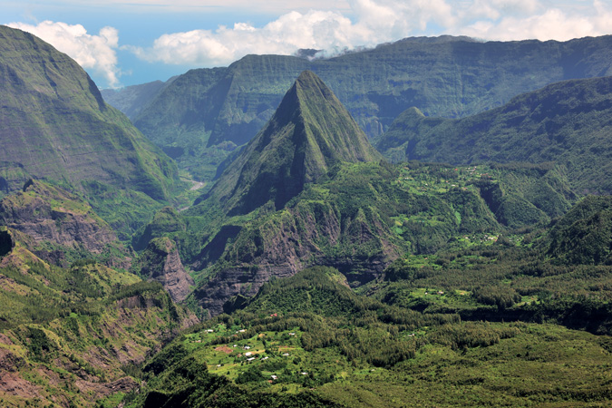 Réunion Island, Cirque de Mafate