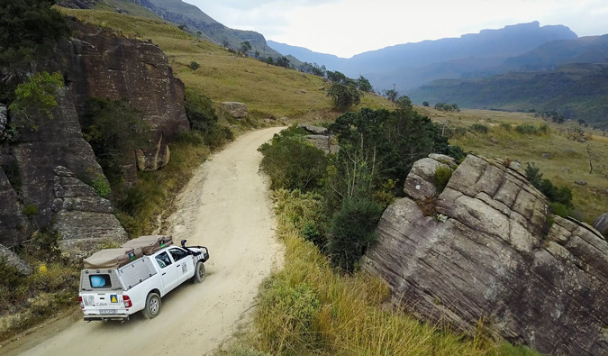 4x4 overland experience, Africa