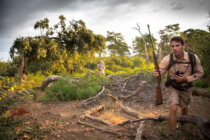 Safari guide, Kruger National Park, South Africa