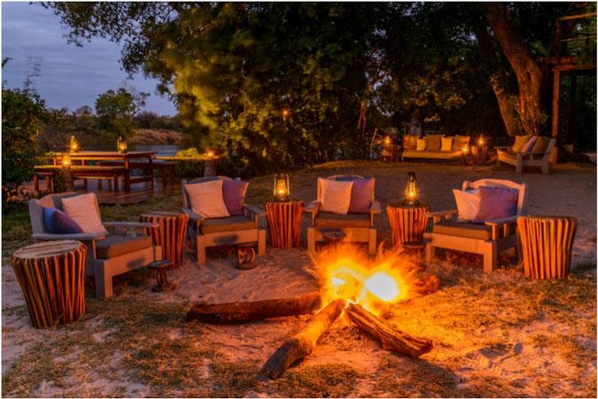 sindabezi-fireplace, Zambezi River