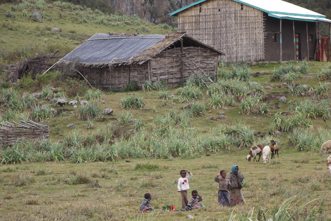 community, Bale Mountains, Ethiopia