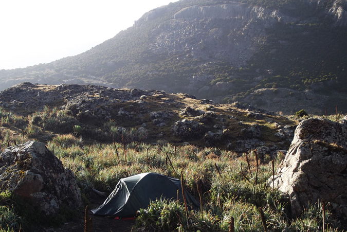 camping, Bale Mountains, Ethiopia