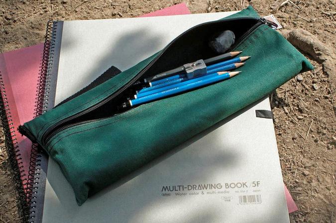 pencils and sketch book, art safari