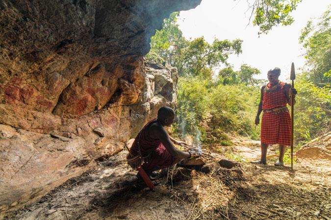 Kakiya cave, Masai Mara, Kenya