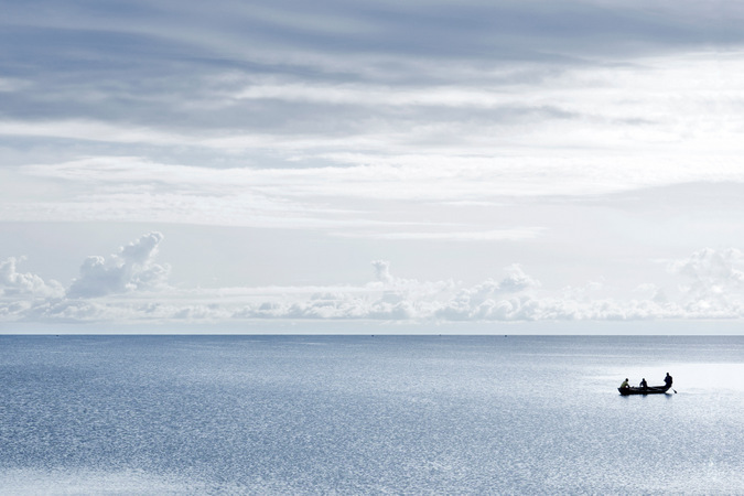 Lake Tanganyika, boat