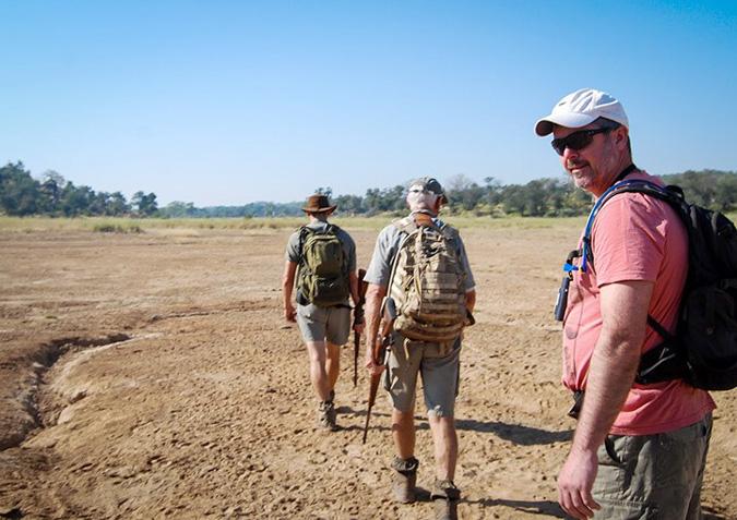 walking safari, Makuleke Concession, northern Kruger, South Africa