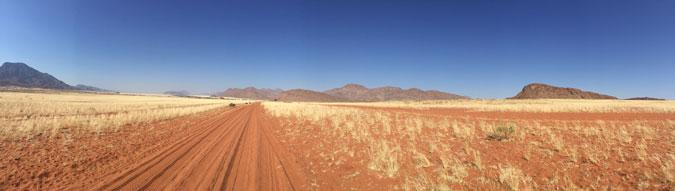 Northern Namibia, landscape, road